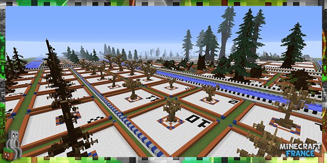 Map] 271 Tree Schematics [1.8+] - Minecraft-France Schematic Minecraft on