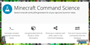 Minecraft Command Science - Une