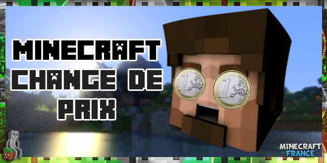 Augmentation du prix de Minecraft
