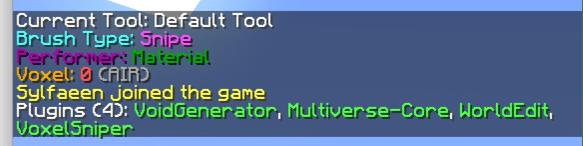 tutomcfr - Installer WorldEdit, VoxelSniper, MultiverseCore et VoidGenerator sous Spigot 1.9