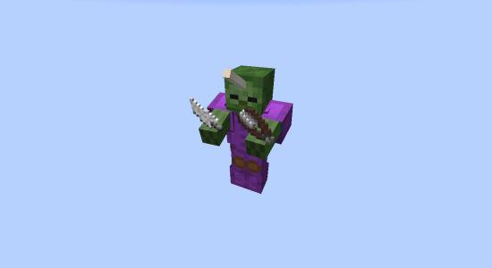 Zombie tout équipé