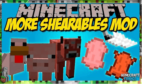 Photo of [Mod] More Shearables [1.8.9]