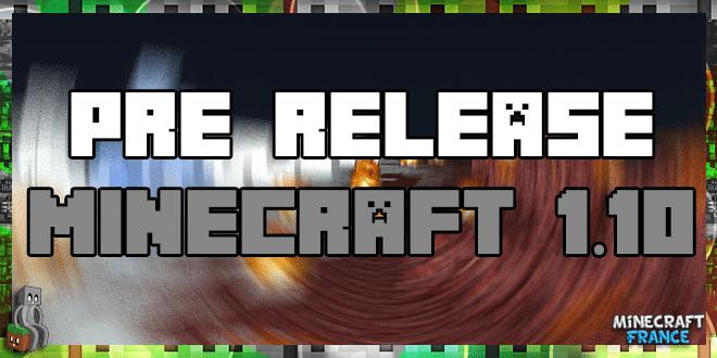 Photo of Minecraft 1.10 : 2ème Pre-release disponible