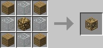 craft lampadaire en bois de lux lighting - Lampadaire Minecraft