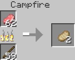 cuisson dans le feu de camp de Lux Lighting