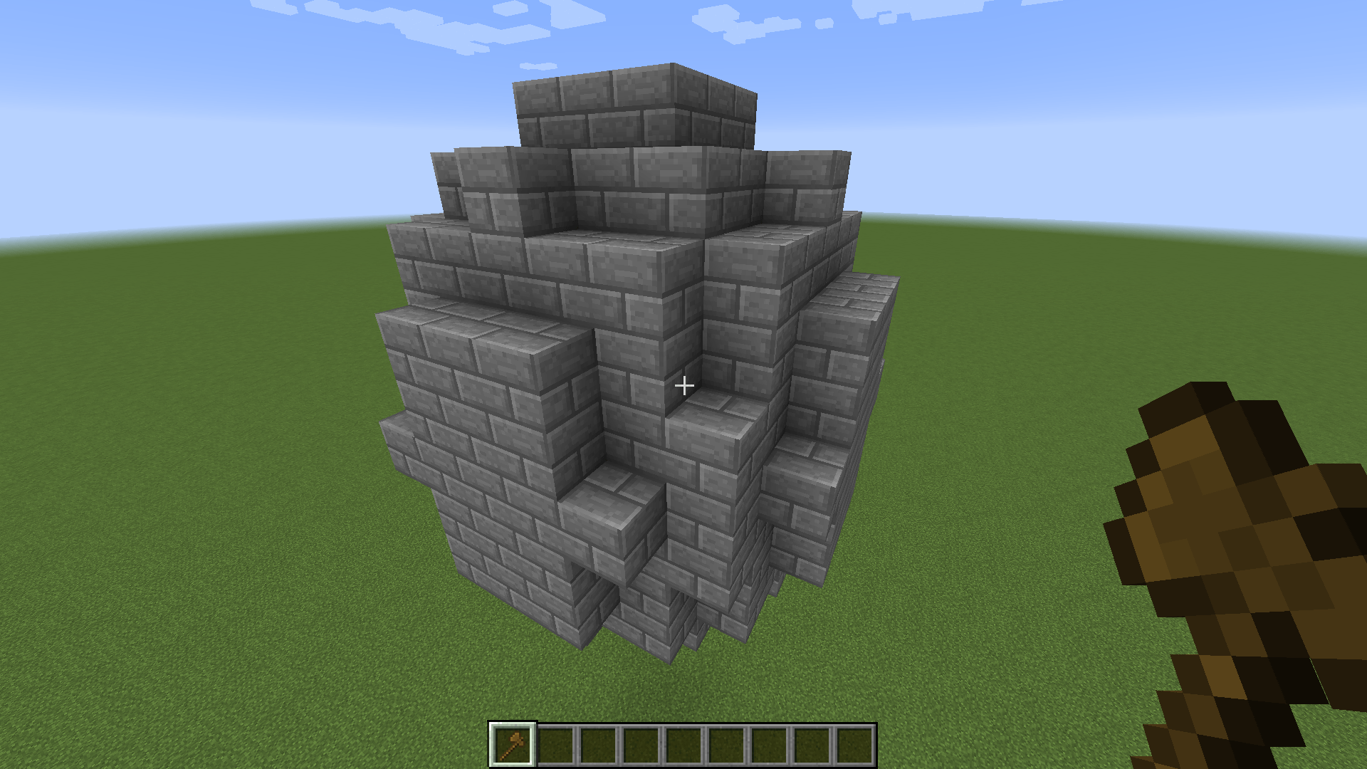une sphère dans Minecraft avec World Edit