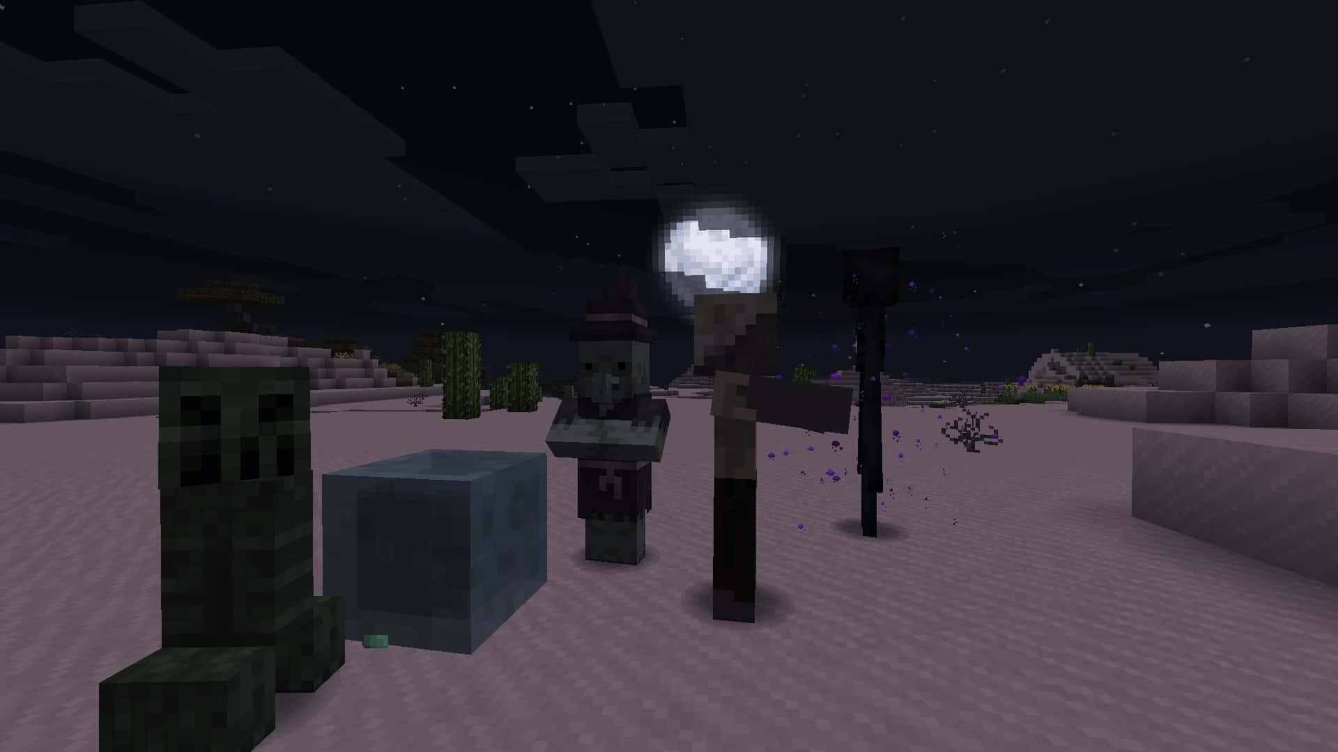 monstres avec le resource pack Excalibur