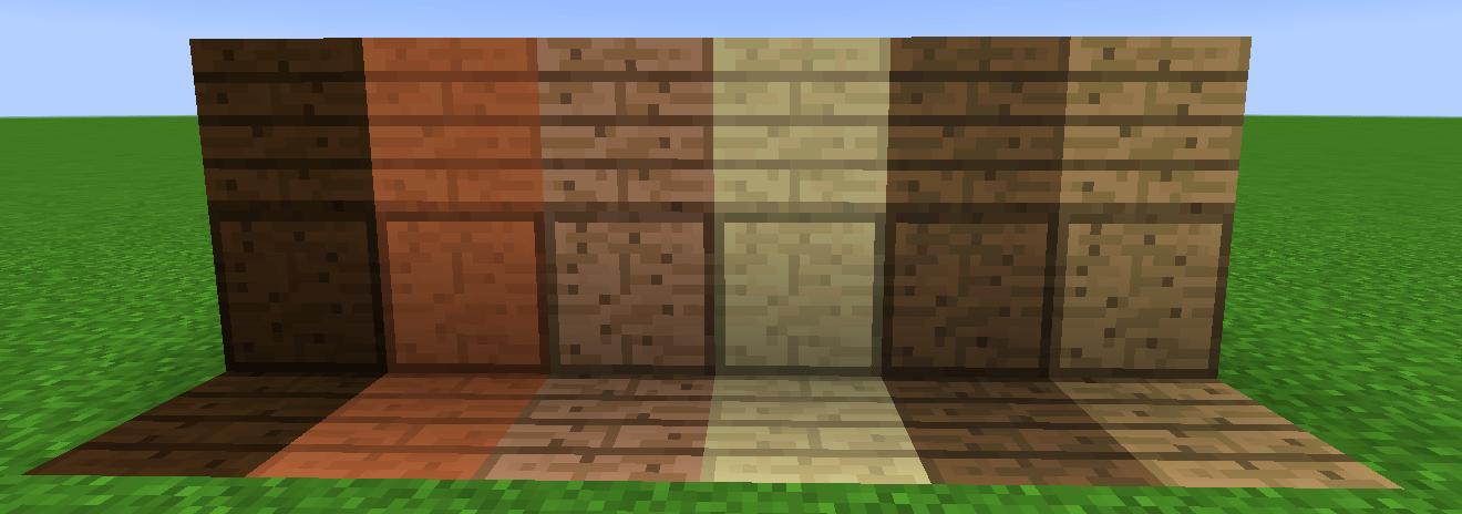 Dalle De Bois Minecraft : oui, m?me si ?a br?le, on adore construire en bois dans Minecraft