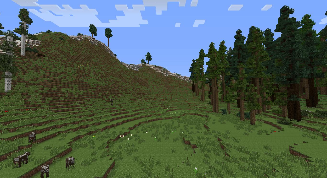 Realistic Terrain Generation - 1