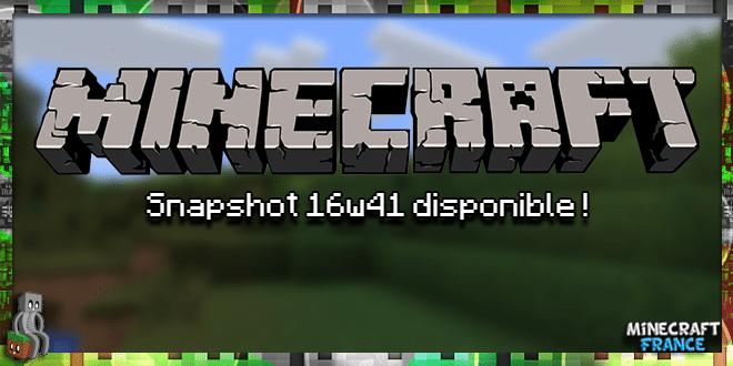 Photo of Minecraft 1.11 : Snapshot 16w41a