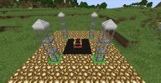 Construction de base - Vampirism (image prise de Minecraft forum)