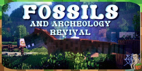 Mod] Fossils & Archeology Revival [1 7 10 - 1 12 2] - Minecraft-France