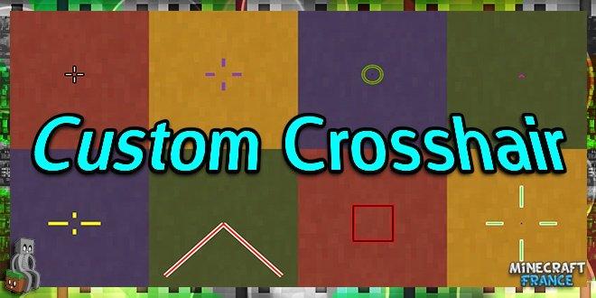 Photo of [Mod] Custom Crosshair [1.7.10 – 1.16.1]