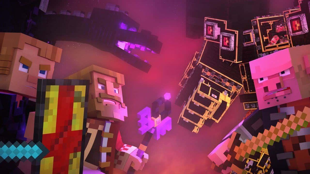 Image prise de la vidéo YouTube de CaptainSparklez (Dragonhearted)