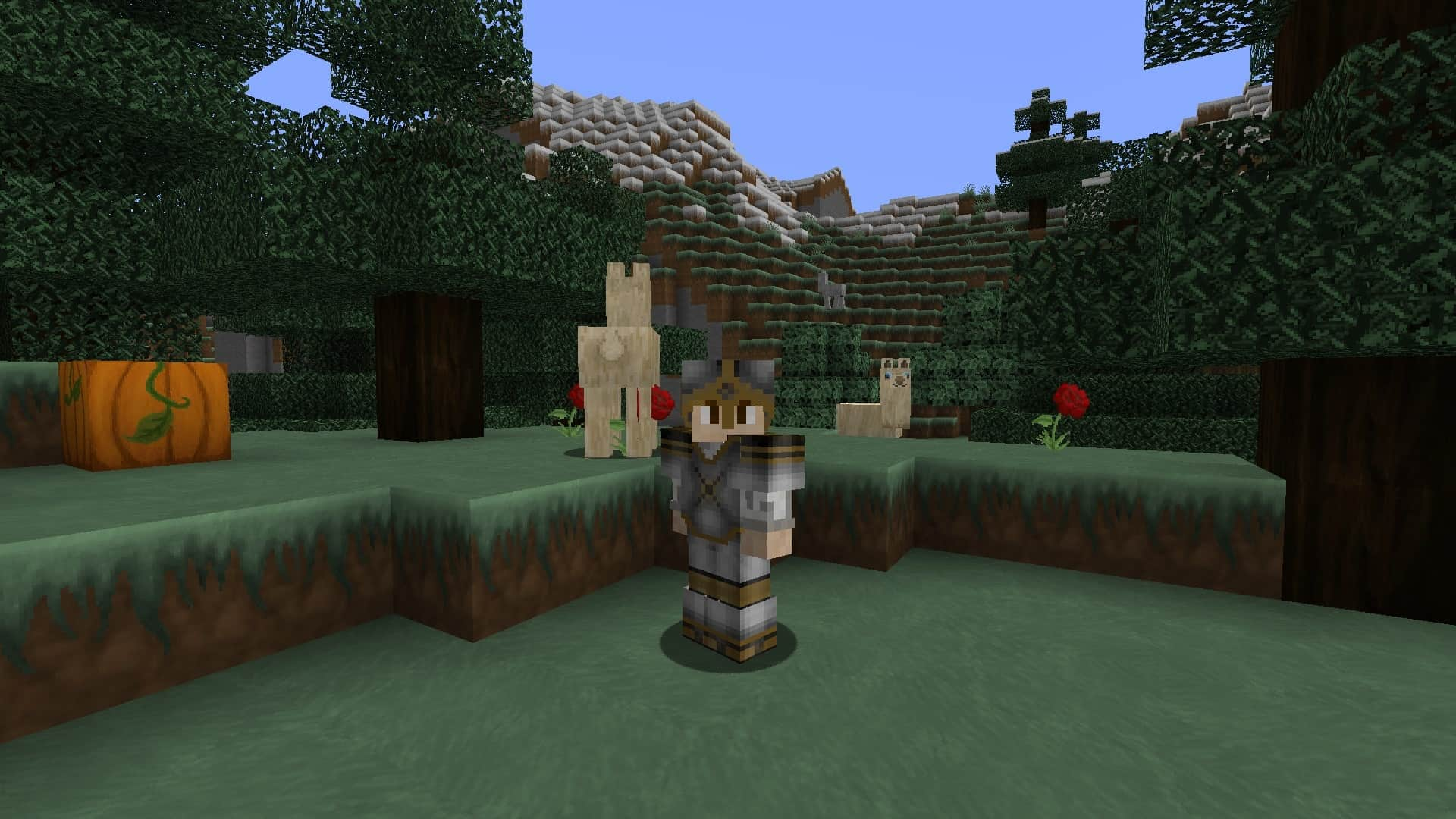 l'armure pvp Minecraft avec le resource pack The Galaxy Pack