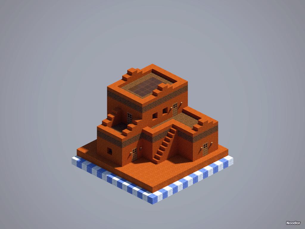 Les constructions de Noodlor : pueblos