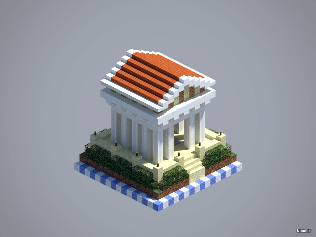 Construction et image par Noodlor : Temple