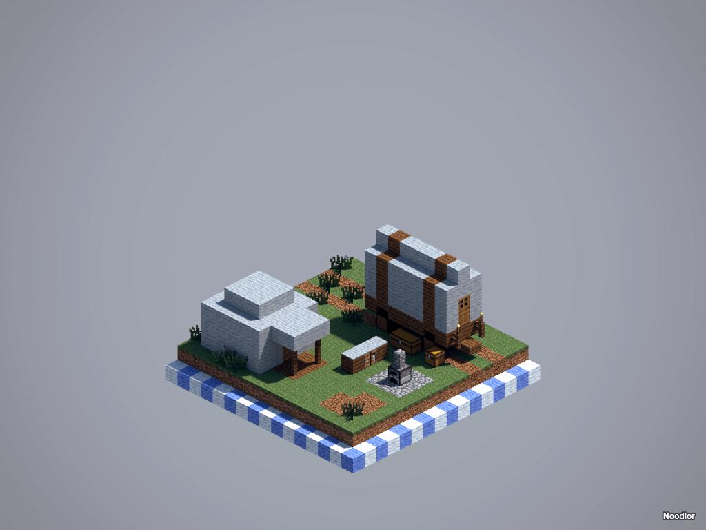 Les constructions de Noodlor : camp