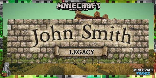 Photo of [Resource Pack PE] John Smith Legacy [0.16 – 1.0]
