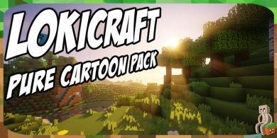 Photo of [Resource Pack] LokiCraft PureCartoonPack [1.7 – 1.13]