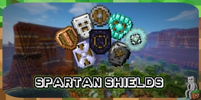 Photo of [Mod] Spartan Shields [1.10.2 – 1.14.4]
