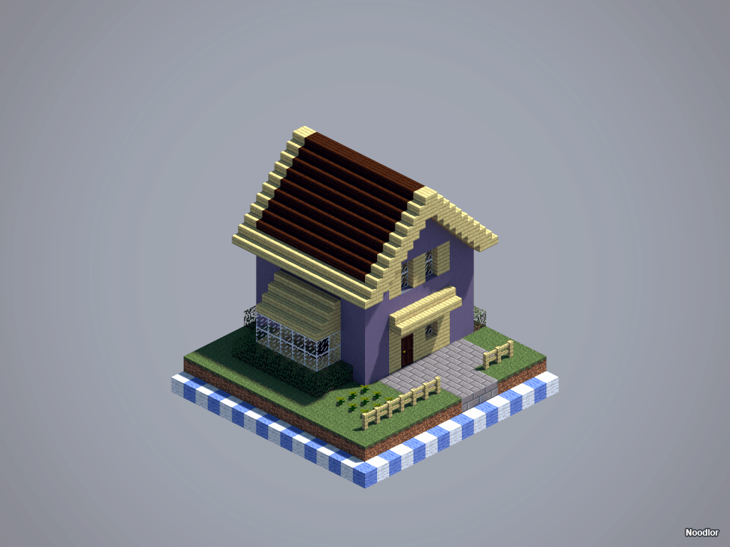 Les constructions de Noodlor : maison de banlieue #1