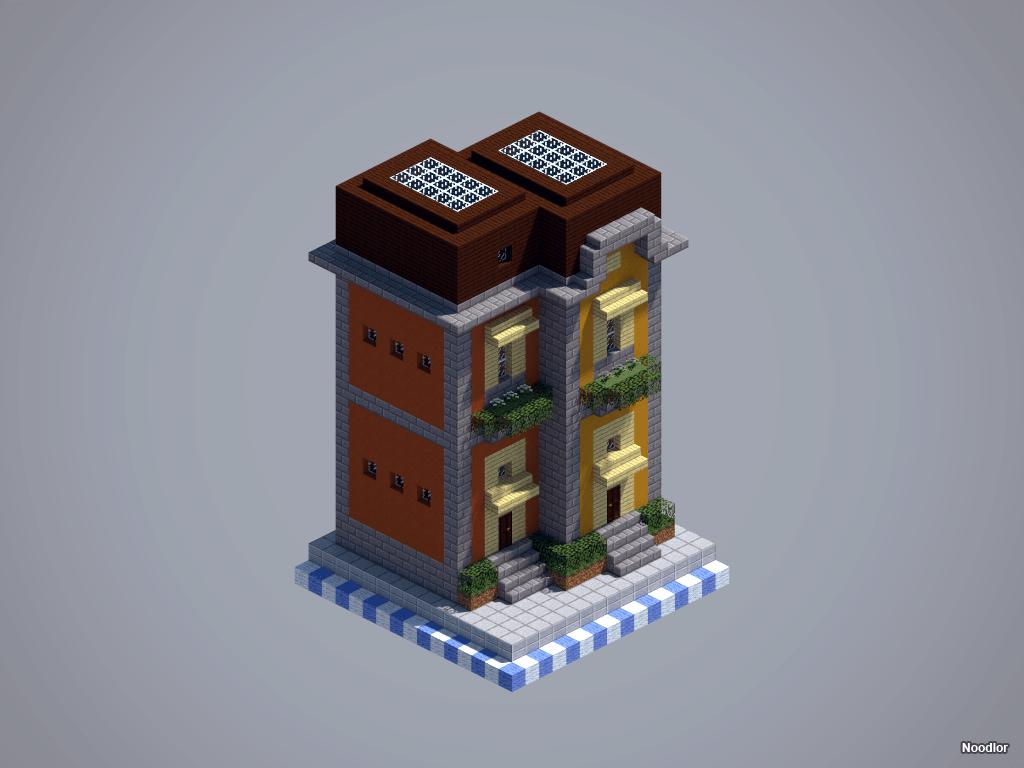 Les constructions de Noodlor : immeubles