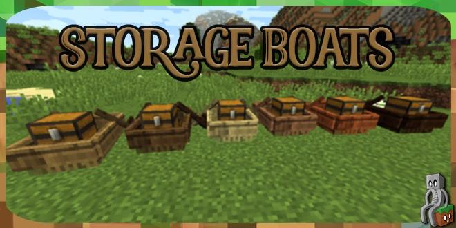 Photo of [Mod] Storage Boats [1.10.2 – 1.12.2]