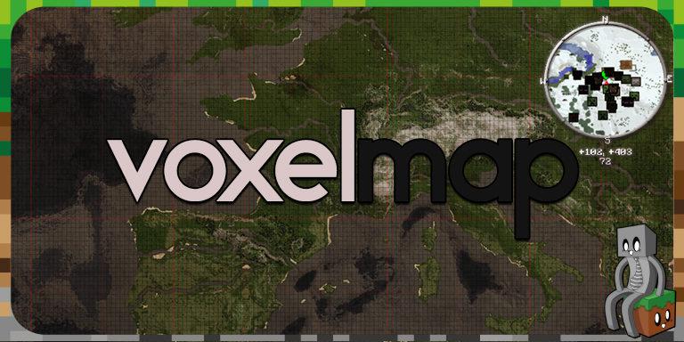 Mod - VoxelMap [1.7.10 - 1.16.2]
