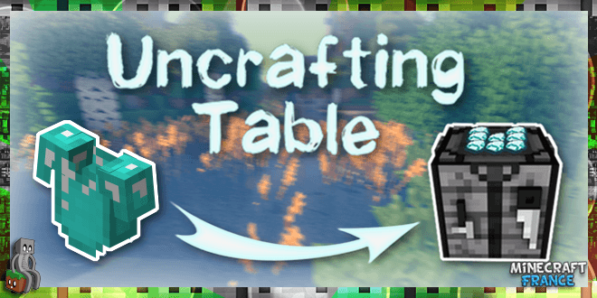 Photo of [Mod] Uncrafting Table [1.7.10 – 1.12.2]