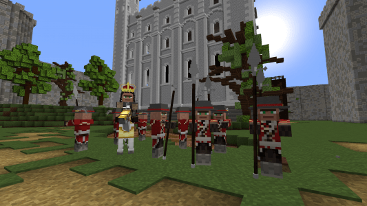 Great Fire of London 1666 Minecraft
