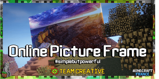 Photo of [Mod] OnlinePictureFrame [1.7.10 – 1.12.2]