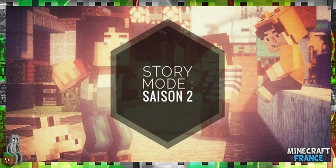 Minecraft Story Mode saison 2, Une par GreenLenux