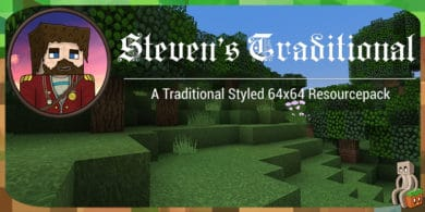 Photo of [Resource Pack] Steven's Traditional [1.12 – 1.15]