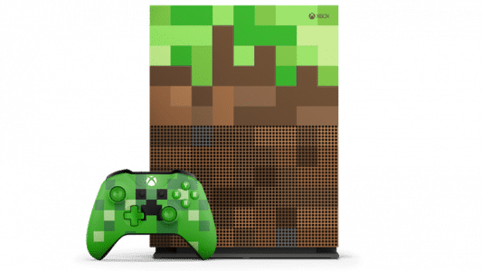 Xbox One S Minecraft : face