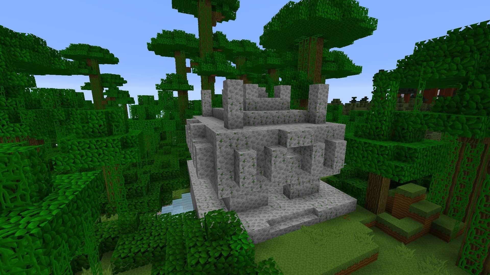 jungle et temple de LIIE's