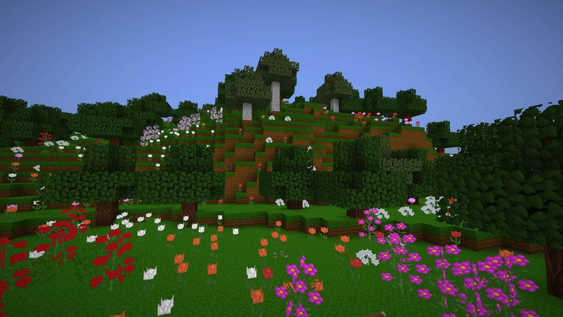 fleurs et arbres de LIIE's