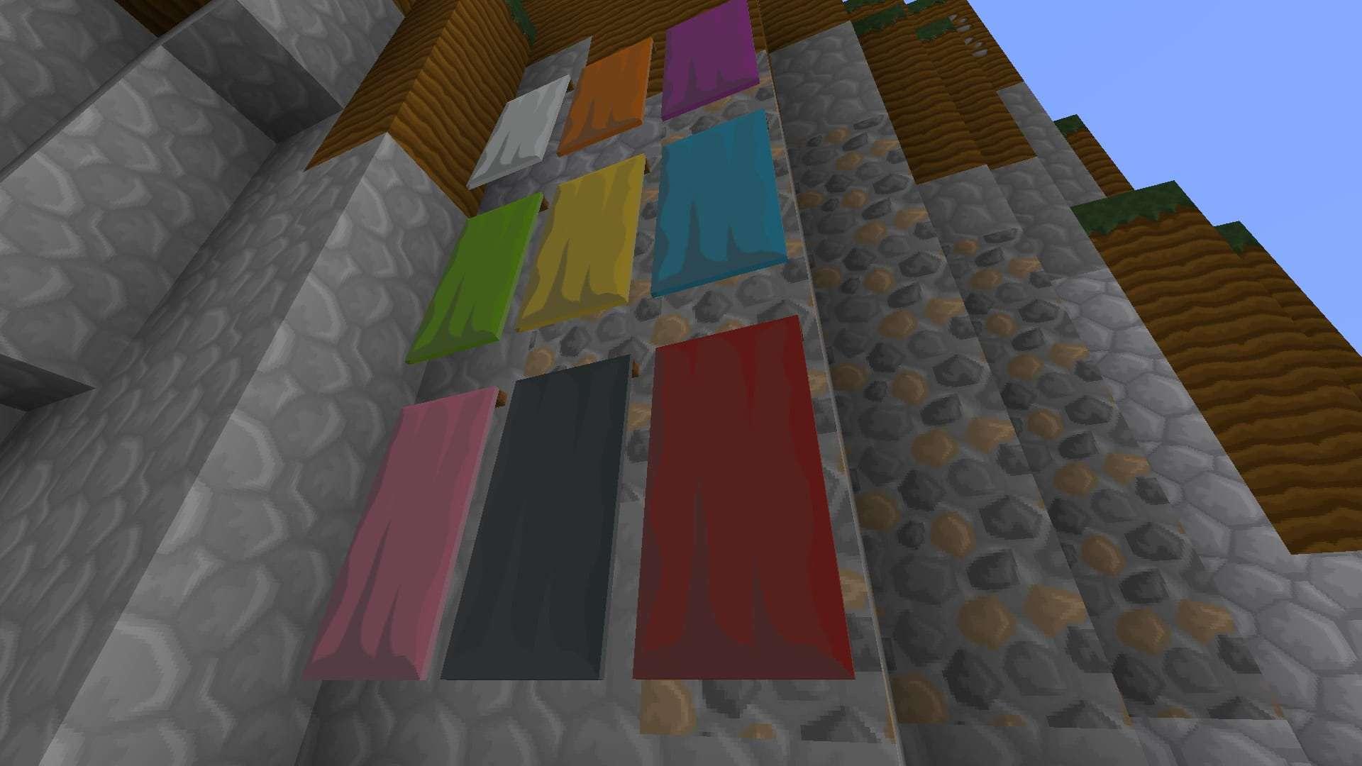 bannières ou drapeaux de LIIE's