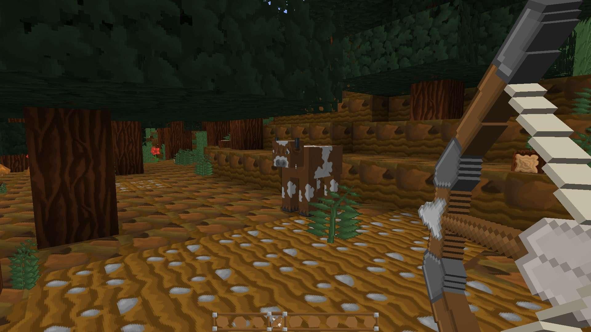 arc et vache de LIIE's