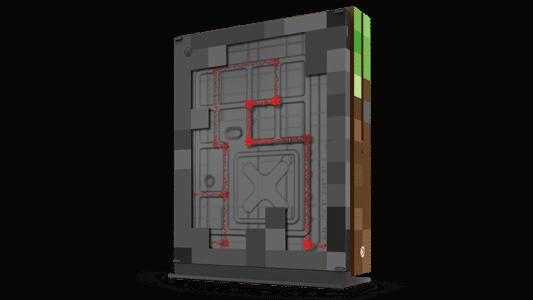 Xbox One S Minecraft : arrière