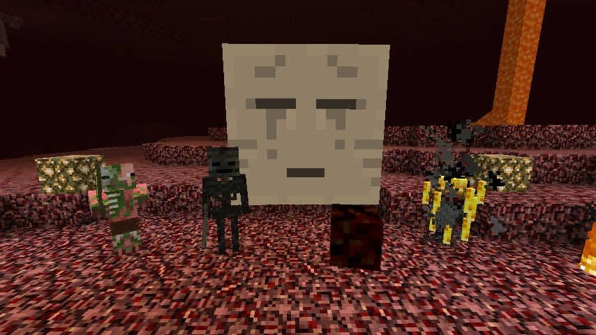 Nether - mobs