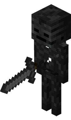 Nether - Wither squelette