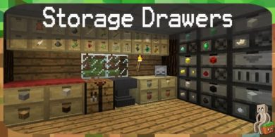 [Mod] Storage Drawers [1.7.10 – 1.15.2]