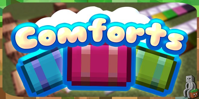 Photo of [Mod] Comforts [1.12.2 – 1.14.4]