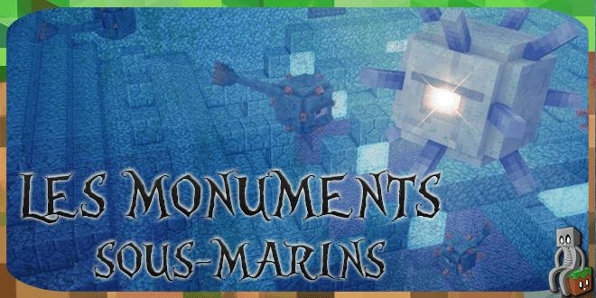 monuments sous-marins - une