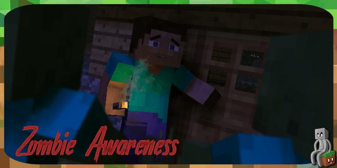 Photo of [Mod] Zombie Awareness [1.7.10 – 1.12.2]
