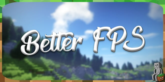 Photo of [Mod] BetterFps [1.7.10 – 1.12.2]