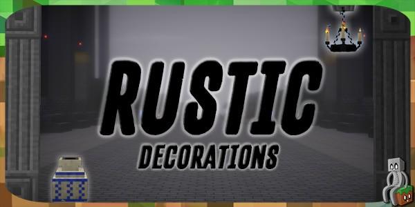 Mod] Rustic [1 10 2 - 1 12 2] - Minecraft-France