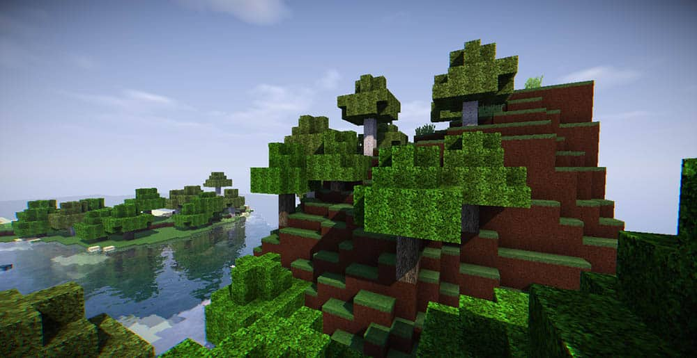 Resource Pack Real Nature Resource Pack 1.12 - Minecraft-France