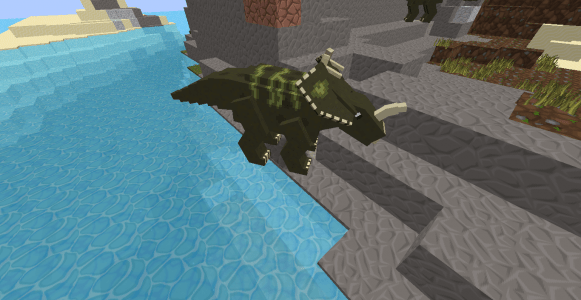 Modzoic centrosaurus